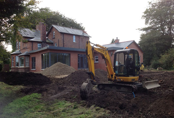 Groundworks and Civil Engineering Contractor in Hedge End, Southampton