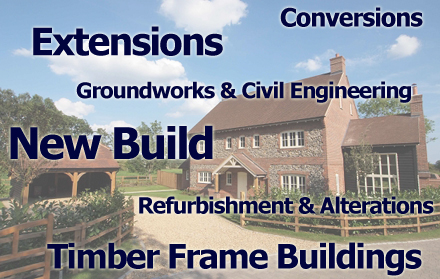 Builders in Hedge End Southampton - Oak, New Build, Renovation